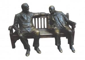 Communication statue